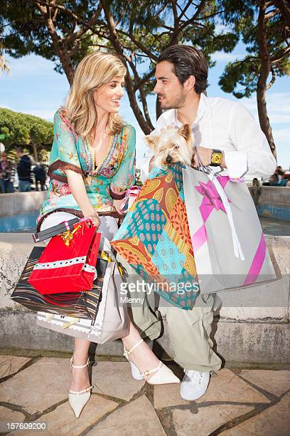 Posh Couple Shopping