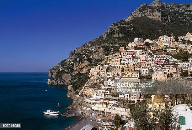 Positano Amalfi coast Campania Italy 10th19th century