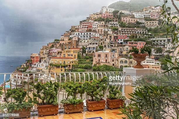 Positano on Amalfi Coast of Italy