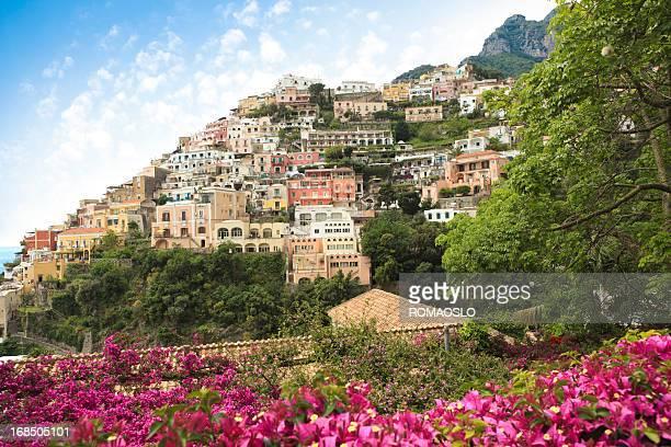 Positano on the Amalfi Coast, Campania Italy