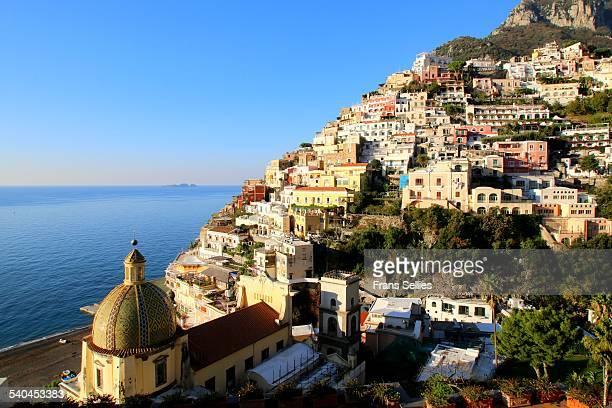 positano on the amalfi coast, italy - frans sellies stockfoto's en -beelden