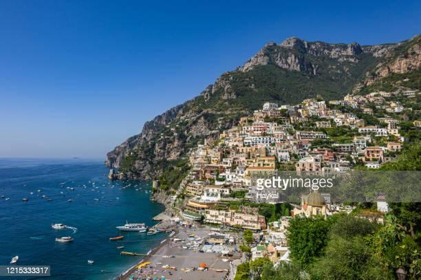 positano - sorrento italy stock pictures, royalty-free photos & images