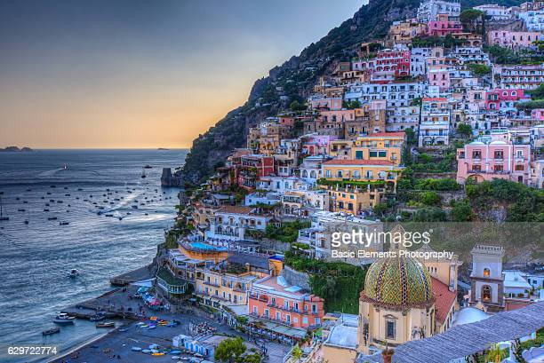 positano - sorrento stock pictures, royalty-free photos & images