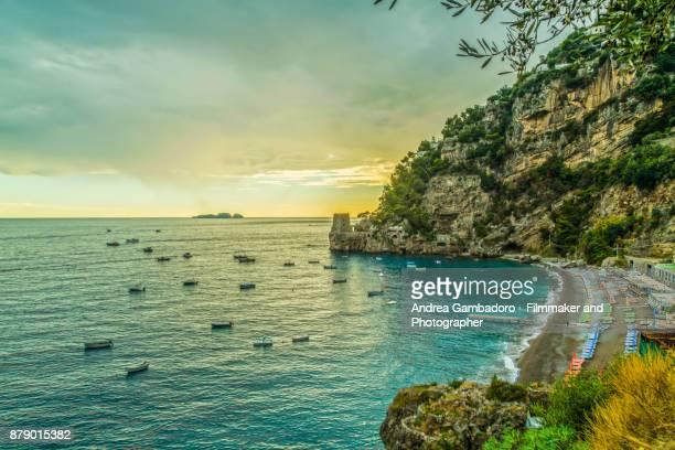 positano - amalfi coast stock photos and pictures