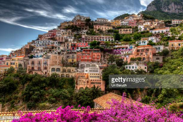 positano - barulho stock pictures, royalty-free photos & images