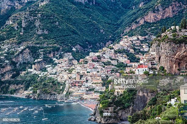 positano, provincia salerno, italy - positano fotografías e imágenes de stock