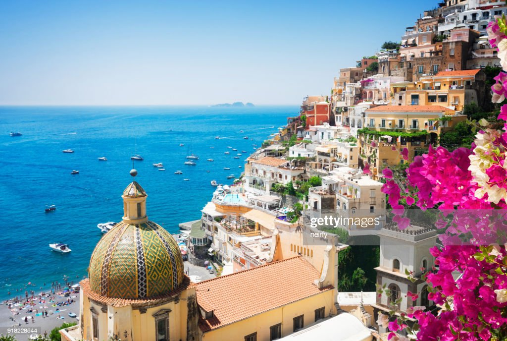 Positano resort, Italy : Stock Photo