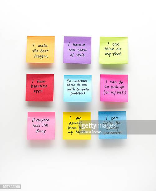 Positive Affirmation Notes