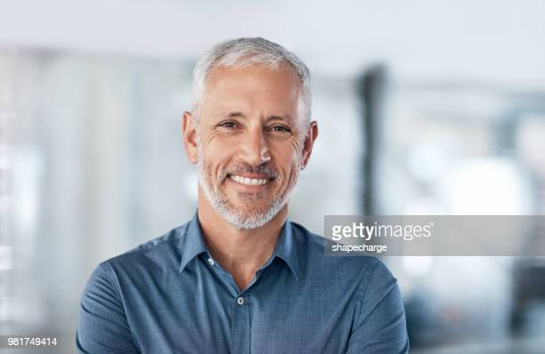 positive and professional, everything you want in an entrepreneur - mature men stock pictures, royalty-free photos & images