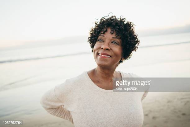 positive living - pretty older women stock pictures, royalty-free photos & images
