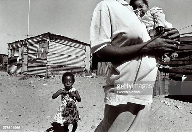 HIV Positive Mother with Children