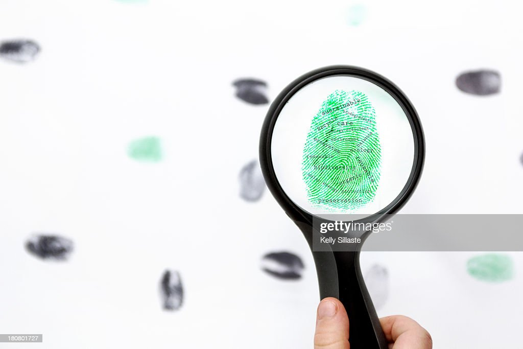 Positively green evidence : Stock Photo