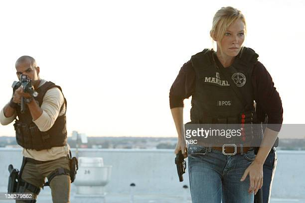 CHASE Posse Episode 108 Pictured Amaury Nolasco as Marco Martinez Kelli Giddish as Annie Frost