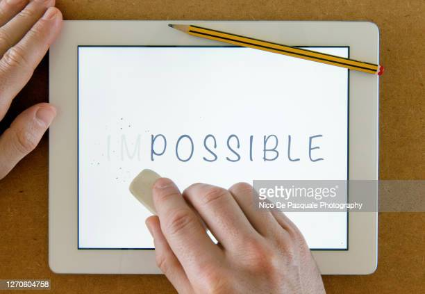 possible or impossible? - single word stock pictures, royalty-free photos & images