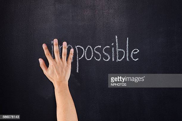 possible or impossible? - adversidade imagens e fotografias de stock