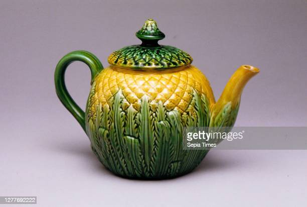 Possibly Griffen, Smith and Hill, Teapot, American, Possibly Griffen, Smith and Hill , 1880–89, Made in Phoenixville, Pennsylvania, United States,...