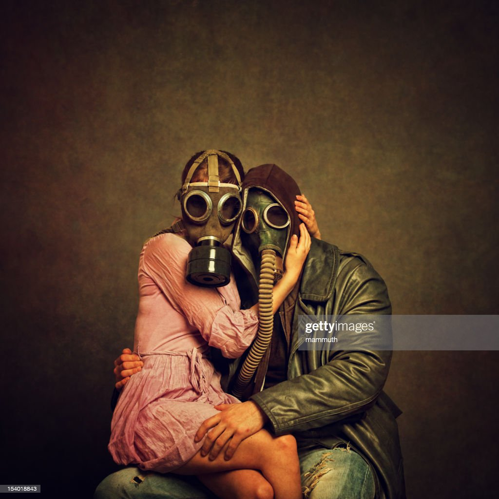 Post Apocalyptic Love : Stock Photo