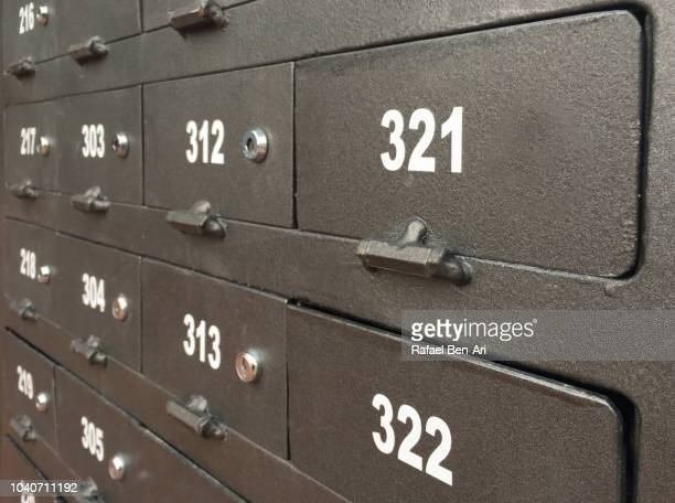 Post Boxes with Numbers