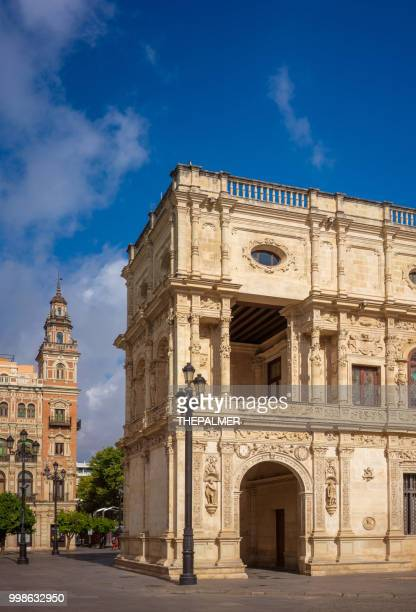 Postgebäude Sevilla Spanien