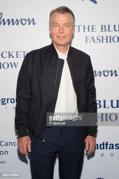 Post Columnist Richard Johnson attends the Inaugural Blue Jacket Fashion Show to benefit Prostate Cancer Foundation at Pier 59 Studios on February 1,...