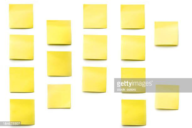 post-its (Haftnotizen)