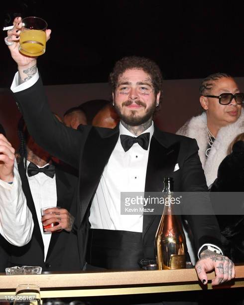 Post Malone attends Sean Combs 50th Birthday Bash presented by Ciroc Vodka on December 14 2019 in Los Angeles California