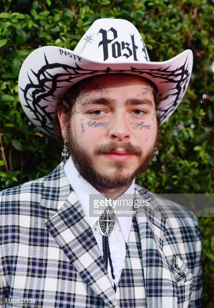 Post Malone attends the 2019 American Music Awards at Microsoft Theater on November 24, 2019 in Los Angeles, California.