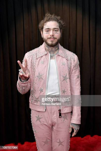 Post Malone attends the 61st Annual GRAMMY Awards at Staples Center on February 10, 2019 in Los Angeles, California.