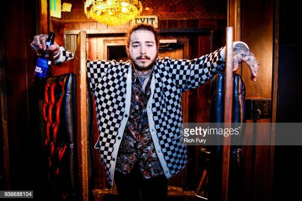 Post Malone Behind The Scenes Before His Bud Light Dive Bar Tour Show In Nashville At