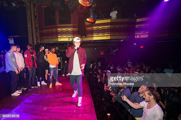 Post Malone performs at House Party NYC at Webster Hall on