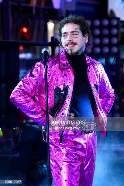Post Malone performs during Dick Clark's New Year's Rockin' Eve With Ryan Seacrest 2020 on December 31, 2019 in New York City.