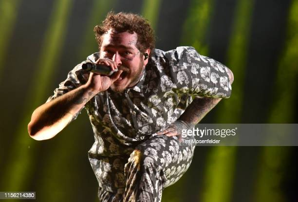 Post Malone performs during the 2019 Bonnaroo Music & Arts Festival on June 15, 2019 in Manchester, Tennessee.