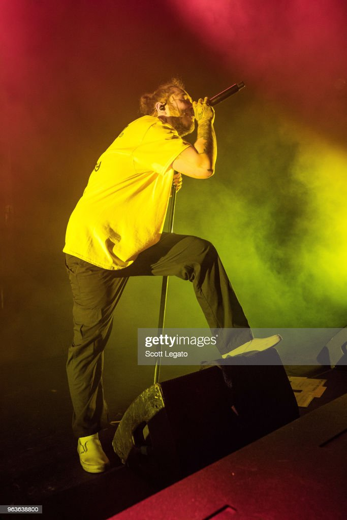 Post Malone Performs In Support Of Beerbongs Bentleys At Michigan News Photo Getty Images