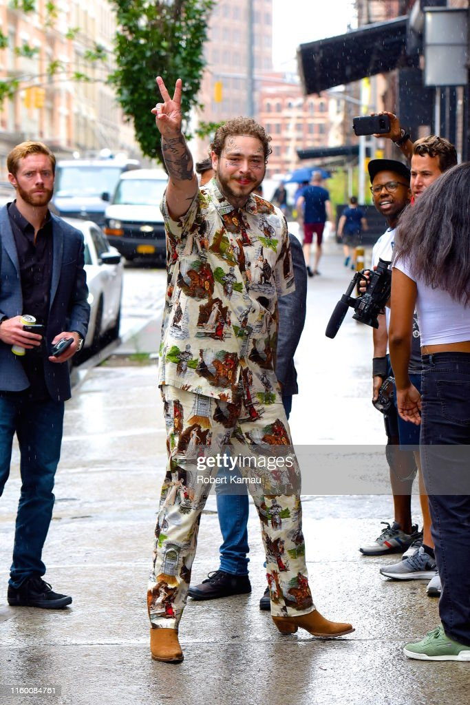 Celebrity Sightings in New York City - August 6, 2019 : News Photo