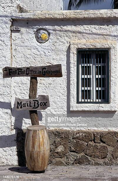 Post Office Bay Galapagos Islands Ecuador keeps the legendary post barrel that whalers used to send their mailThis was the first Post Office in the...