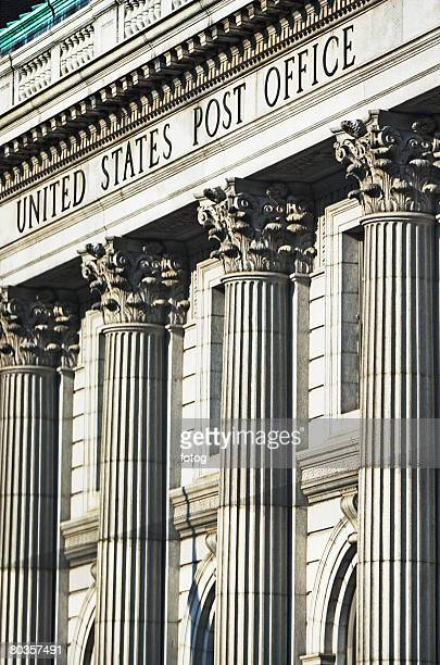 post office, columns - post office stock pictures, royalty-free photos & images