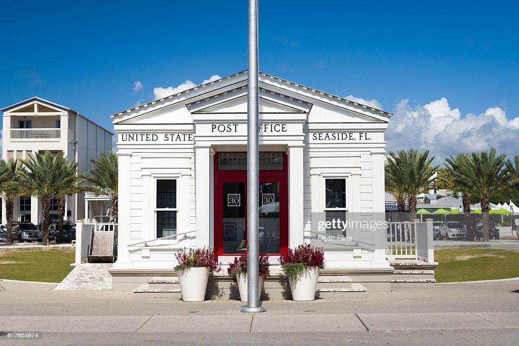 U.S. Post Office in Seaside, Florida : Stock Photo