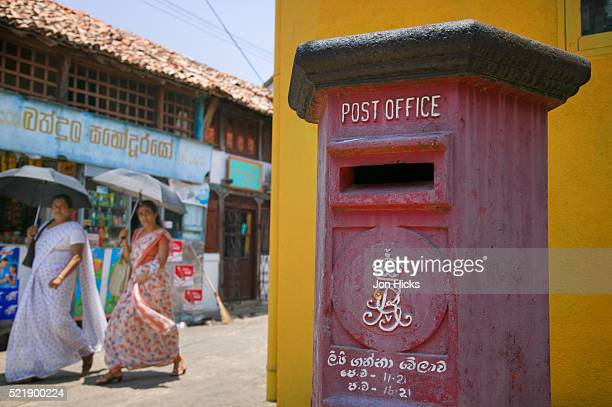 Post Office Mailbox at Galle Fort