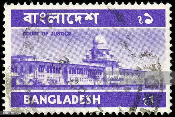 briefmarke von bangladesch - bangladesh stock-fotos und bilder
