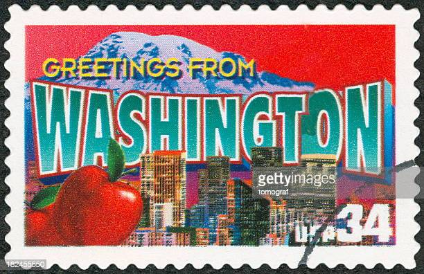 A postage stamp from Washington