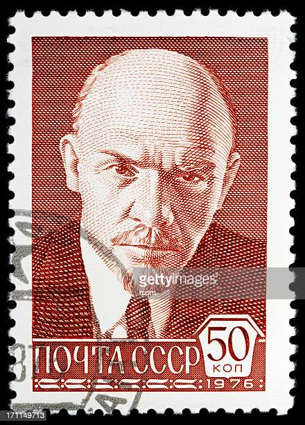 USSR Postage Stamp on white background