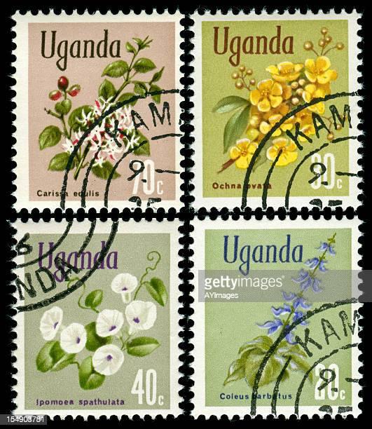 Briefmarken aus Uganda