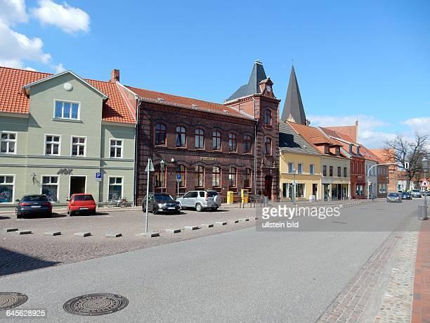 Postamt Roebel Kleinstadt im Suedwesten des Landkreises Mecklenburgische Seenplatte in MecklenburgVorpommern