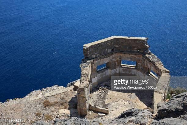 postazione lero ii - greece wwii stockfoto's en -beelden