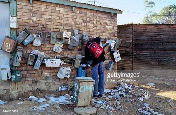 Postboxes Kayamandi Stellenbosch Western Cape