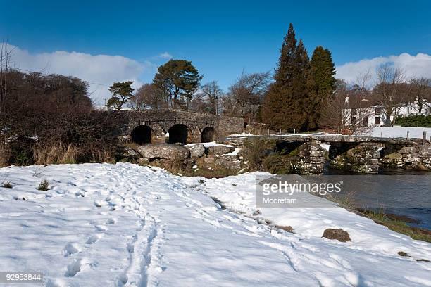 Postbridge after heavy snowfalls