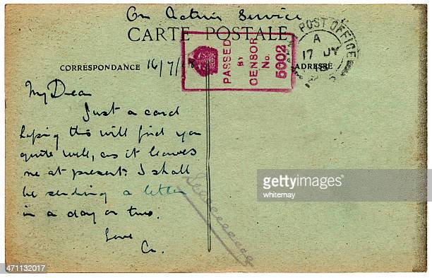 WWI Postcard from France 1918