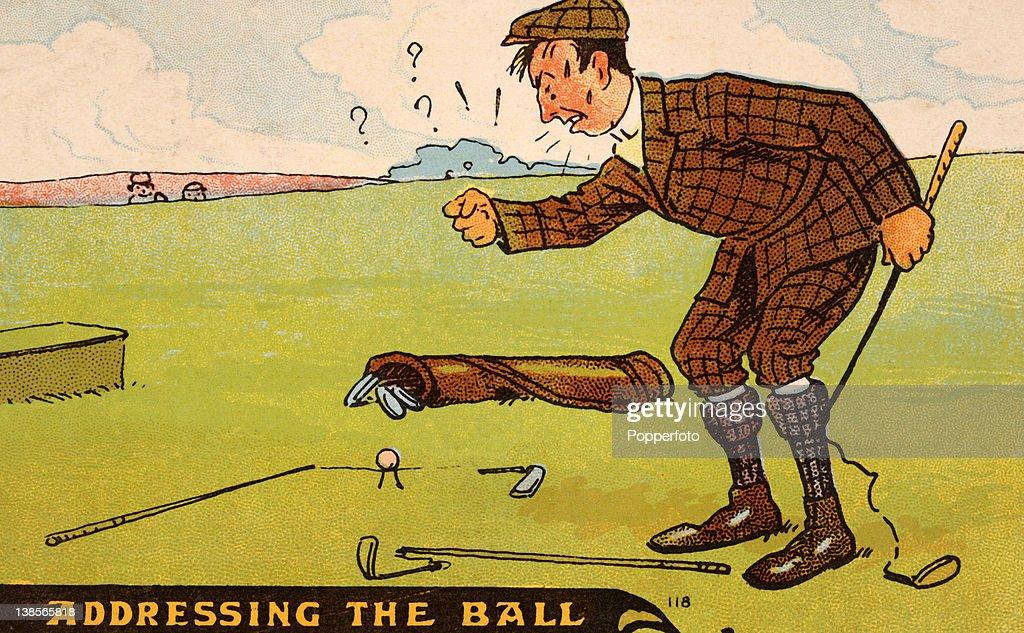 Golf Illustration : News Photo