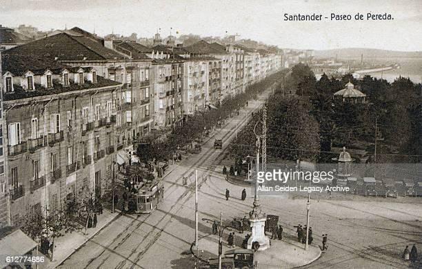 Postcard Santander Spain circa 1910