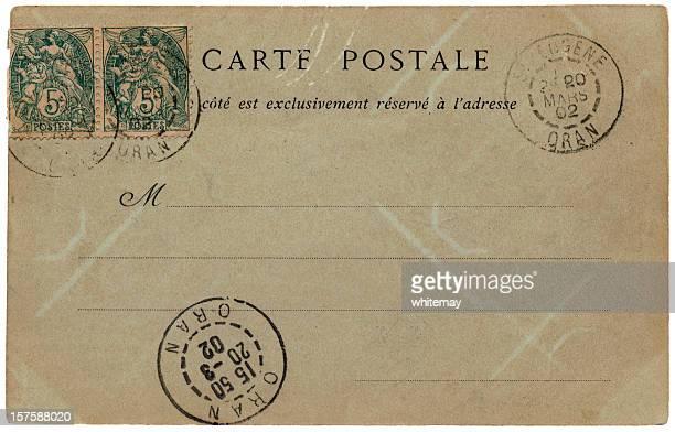Carte postale envoyé de St. Eugene, Oran (Afrique du Nord) en 1902